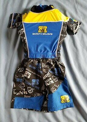 Body Glove Swimwear Kids (Body Glove Life Jacket Shirt Swim Suit Kids Boys Small 20-30 lbs. )