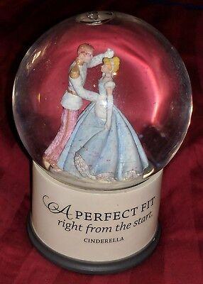 Cinderella Disney Hallmark Snow Globe perfect fit right from the start SNOWGLOBE