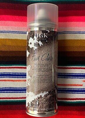 IGK First Class Charcoal Detox Dry Shampoo 6.3oz Gluten-free + Vegan ✿ NEW ✿