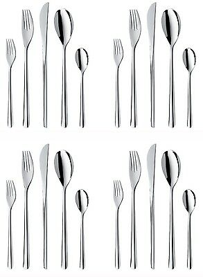 WMF Taika 20-Piece Stainless Steel Flatware Set, Service for Four
