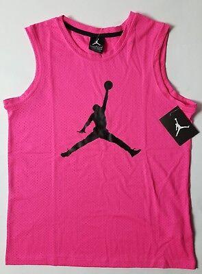 Nike Air Jordan Mädchen Netz Jumpman Tank Top T-Shirt Größe M ()