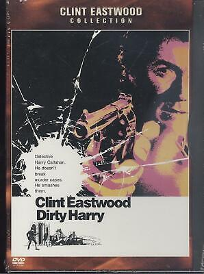 Warner dvd Dirty Harry Clint Eastwood  brand new sealed