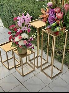 Set of gold plinths for hire in $65 Cranbourne East Casey Area Preview