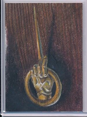 2017 Rittenhouse Game Of Thrones Valyrian Steel Sketch 1/1 Hand Of The QUEEN !!!