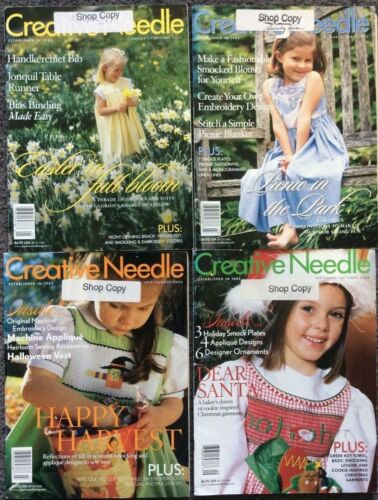 CREATIVE NEEDLE MAGAZINE- YEAR 2004 - 4  CHOICES