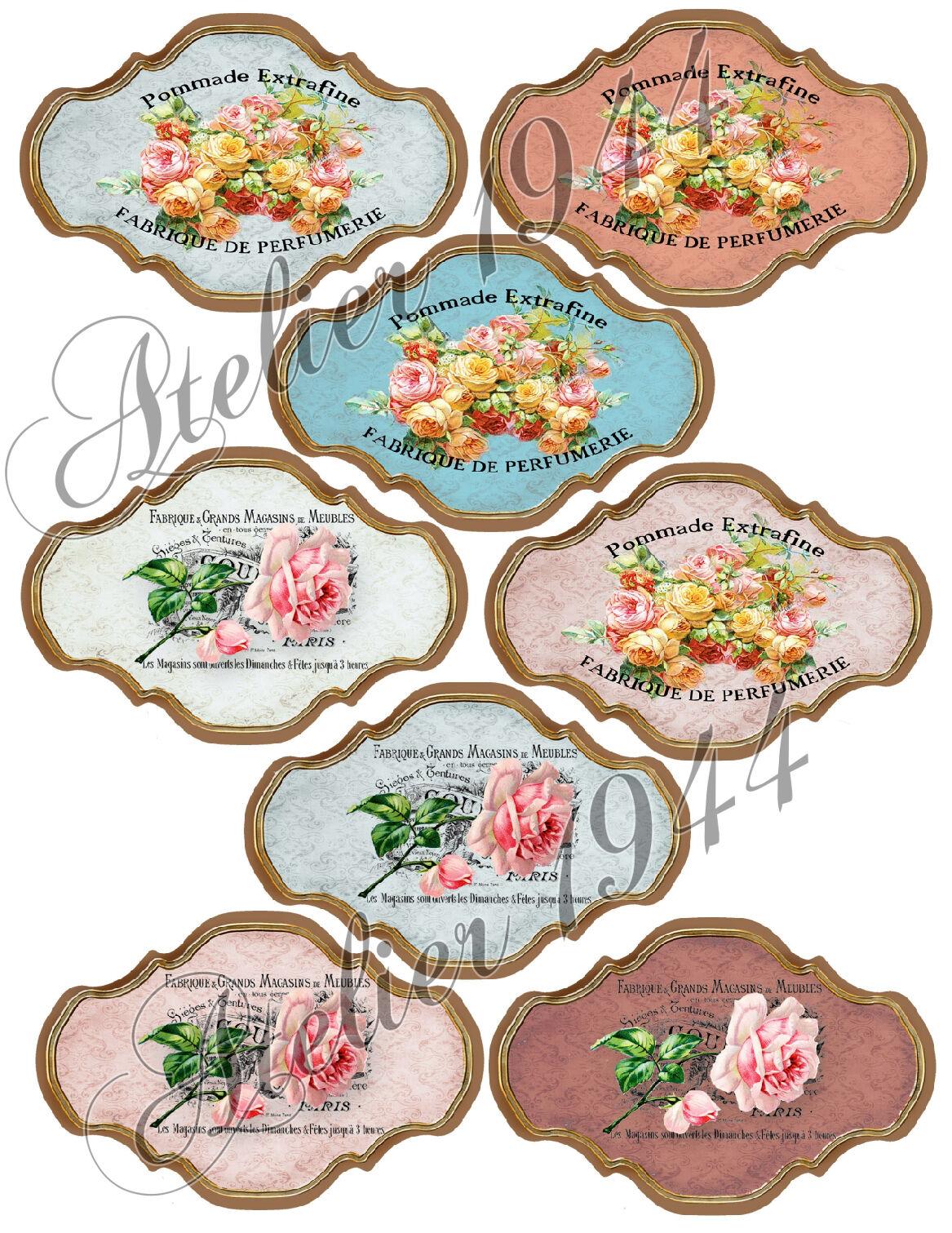 Aufkleber-Möbeltattoo-transparent-Sticker-French Flora Labels-1013