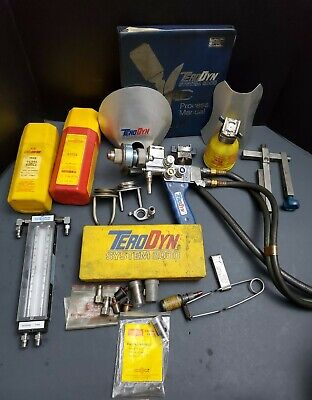 Eutectic Terodyn 2000 Thermal Spray Set Welding Torch Kit Machinist Lathe Welder
