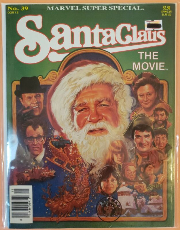 MARVEL SUPER SPECIAL #39 ~ VF/NM 1985 COMIC ~ SANTA CLAUS THE MOVIE