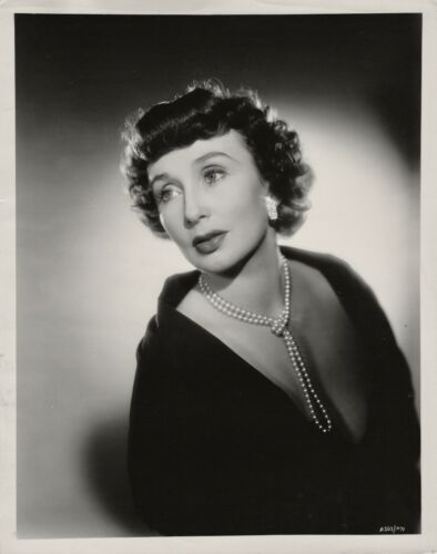 Googie Withers ~ ORIGINAL glamour portrait... circa 1950