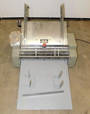18 Count Perfmaster Sprint Pm-18 Perforating And Scoring Machine Used