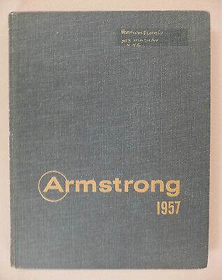 Armstrong Flooring Catalog   1957    Floors  Floor    Hardcover