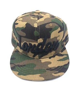London Snapback Baseball  Cap Funky Hip Hop SP Classic Flat Hat LOT](Car Hop Hat)
