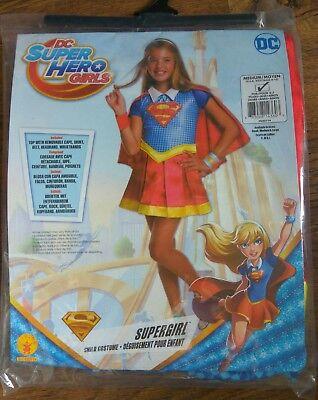 DC Superhero Supergirl Dress-Up Medium - 5-6 Years fancy dress costume