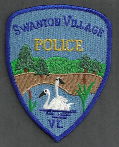 SWANTON VILLAGE VERMONT POLICE SHOULDER PATCH
