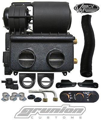 Vintage Air 12 Volt Electric Heater w/ Defrost Louvers & Black Anodized Control