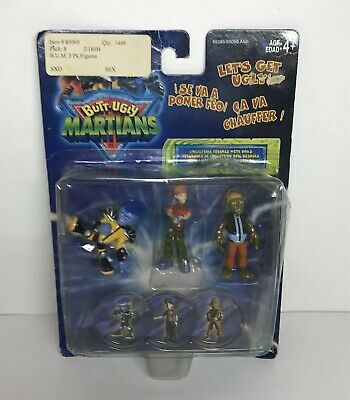 """Hasbro Butt-Ugly Martians Action Figures 2"""" NEW Factory Sealed"""