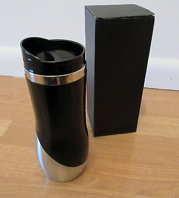 (Curved Stainless Travel Tumbler 16oz)