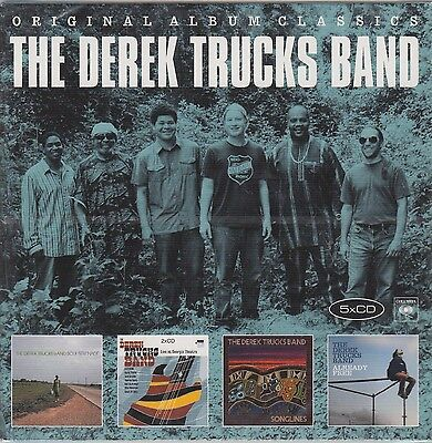 Derek Trucks Band / Soul Serenade, Live, Songlines, Already Free (5 CDs,NEW!OVP) ()