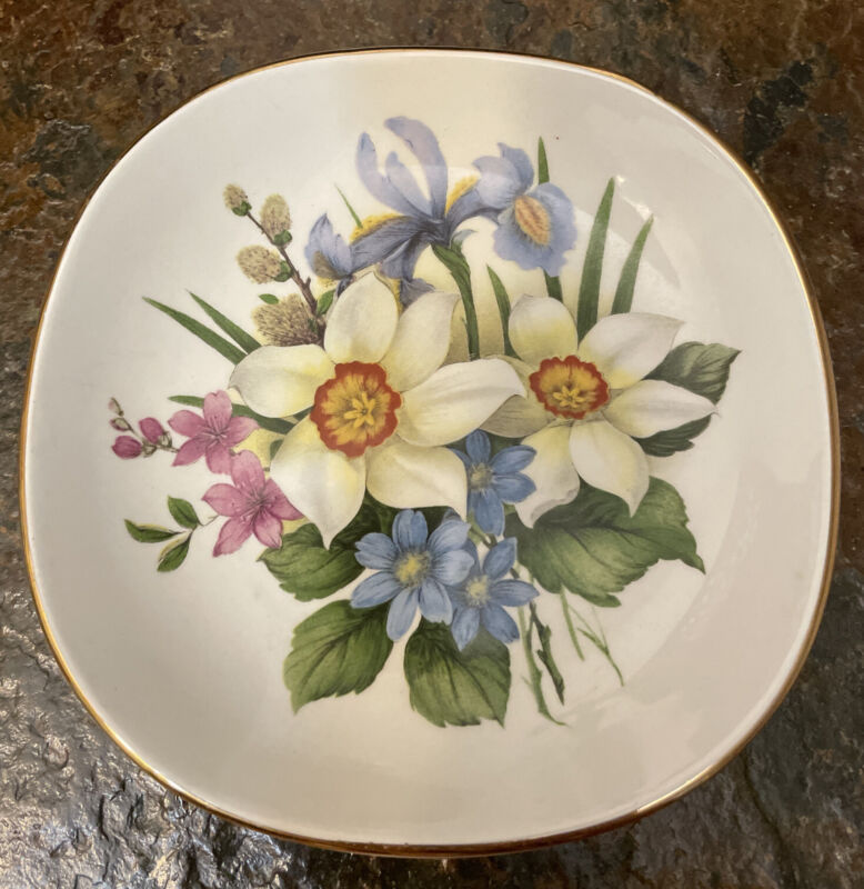 Vtg Royal Falcon Ironstone Plate Dish Made in England for Brooks Brothers