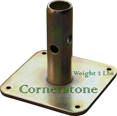 8 Quality Scaffolding Square Base Plate 5 X 5 Scaffold Frame Safety Base Plate