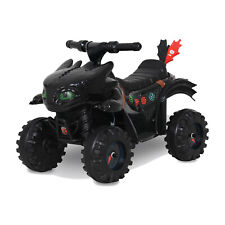 Rollplay How to Train Your Dragon Battery Kid's Mini Quad 4 Wheeler Ride-On Toy