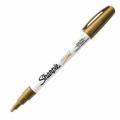 Sharpie Paint Oil Base Metallic Gold Fine Sharpie 35544 - 1 Each