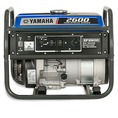 Yamaha Ef2600 2600 Watt Gas Powered Portable Rv Home Backup Power Generator