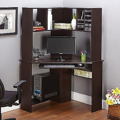 Corner Desk Computer Workstation Hutch Furniture Office Home Executive Table NEW