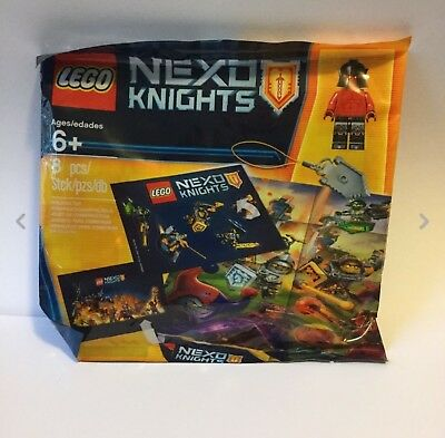 New & Sealed LEGO Nexo Knights Intro Pack Mini figure 8 Pieces 5004388