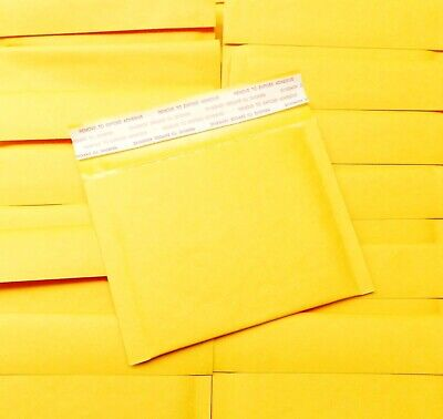 Small Bubble Mailers 4x5 Mini Kraft Smallest Size Mailer Self Seal Pack 80 Pcs