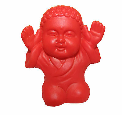 Pocket Buddha Red Praise Buddhism Mini Figure Figurine Toy