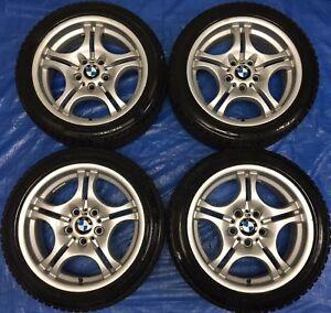 "2005 BMW 3 Series 17"" OEM Wheels & Winter Tires 80% *Amazing"""