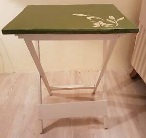 Charming side table with decorated top Edge Hill Cairns City Preview