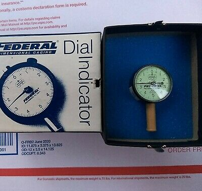 Mahr Federal A21 Dial Indicator Agd Group 0 0-.025 Range .0001