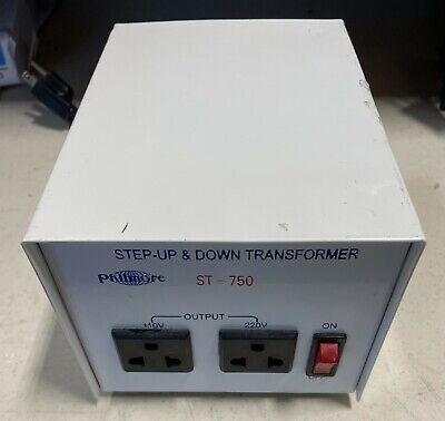 Philmore ST750 Step Up & Down Power Transformer 240V to 120V or 110V to 220V