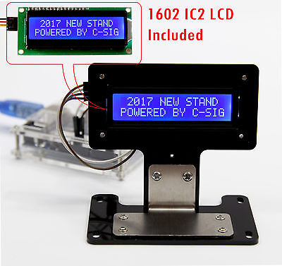 Blue Serial Iici2ctwi 1602 16x2 Character Lcd Led Display Stand For Arduino