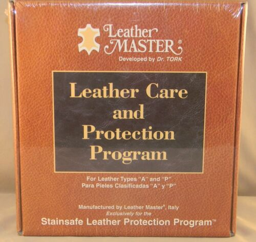 """Leather Master Care and Protection Program""Types A and P Sealed Box"