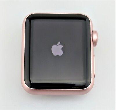 Apple Watch 1st Gen 38mm Rose Gold Aluminum Case Fair Shape