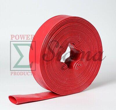 Sigma 3 In X 100 Feet 6 Bar Pvc Lay Flat Agricultural Sump Pump Discharge Hose