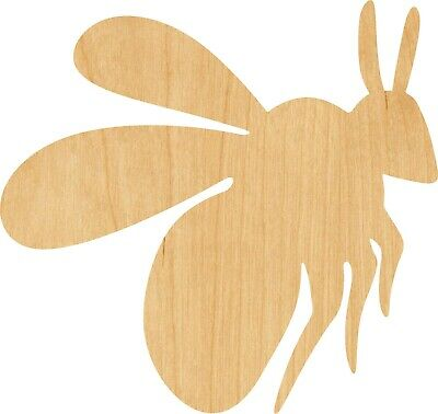 Bumble Bee #0174 Laser Cut Out Wood Shape Craft Supply - Woodcraft](Bumble Bee Cut Outs)
