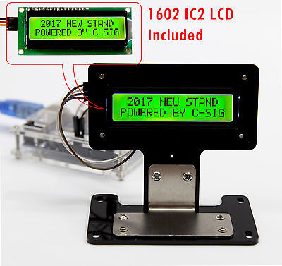 Green Serial Iici2ctwi 1602 16x2 Character Lcd Led Display Stand For Arduino