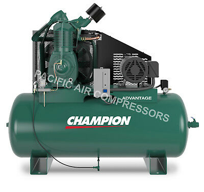 Champion Air Compressor Hra15-12 Fully Packaged 15 Hp 3 Phase 230v Bra15312h