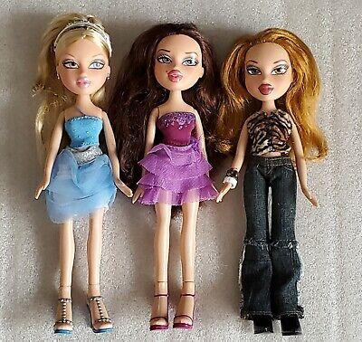 Bratz Dolls Birthday Cloe Hollywood Style Phoebe Wild Life Safari Meygan