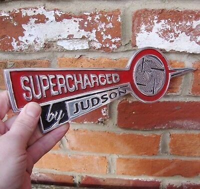 Supercharged By Judson sign Garage sign cast aluminium vw Discontinued VAC029