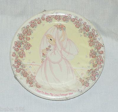 Bridal Shower Plates ( PRECIOUS MOMENTS BRIDAL/ SHOWER  8-PAPER LUNCH PLATES , DESIGNWARE)