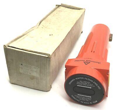 Domnick Hunter Aa-0065g Oil-x Filter Ports G1 Max Temp 50c 16 Bar Max