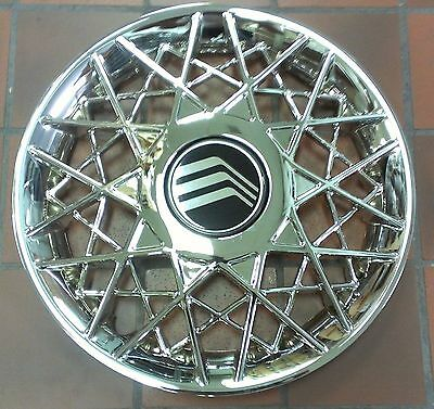 NEW 1998 1999 2001 2002 Mercury Grand Marquis Hubcap Rim Wheel Cover Chrome