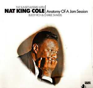 JAZZ LP NAT KING COLE ANATOMY OF A JAM SESSION BUDDY RICH NEW SEALED