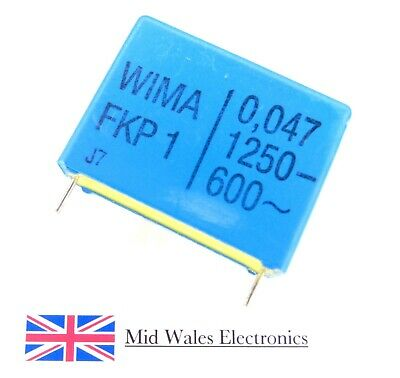 400VDC MKT Bargain Pack Capacitor 0.015uF 5 PCS