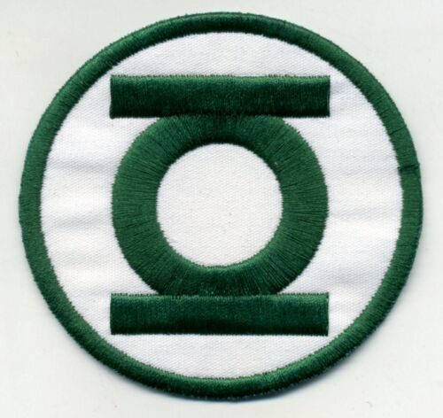 """2.5"""" Green Lantern Corps Classic Style Embroidered Iron on Patch"""